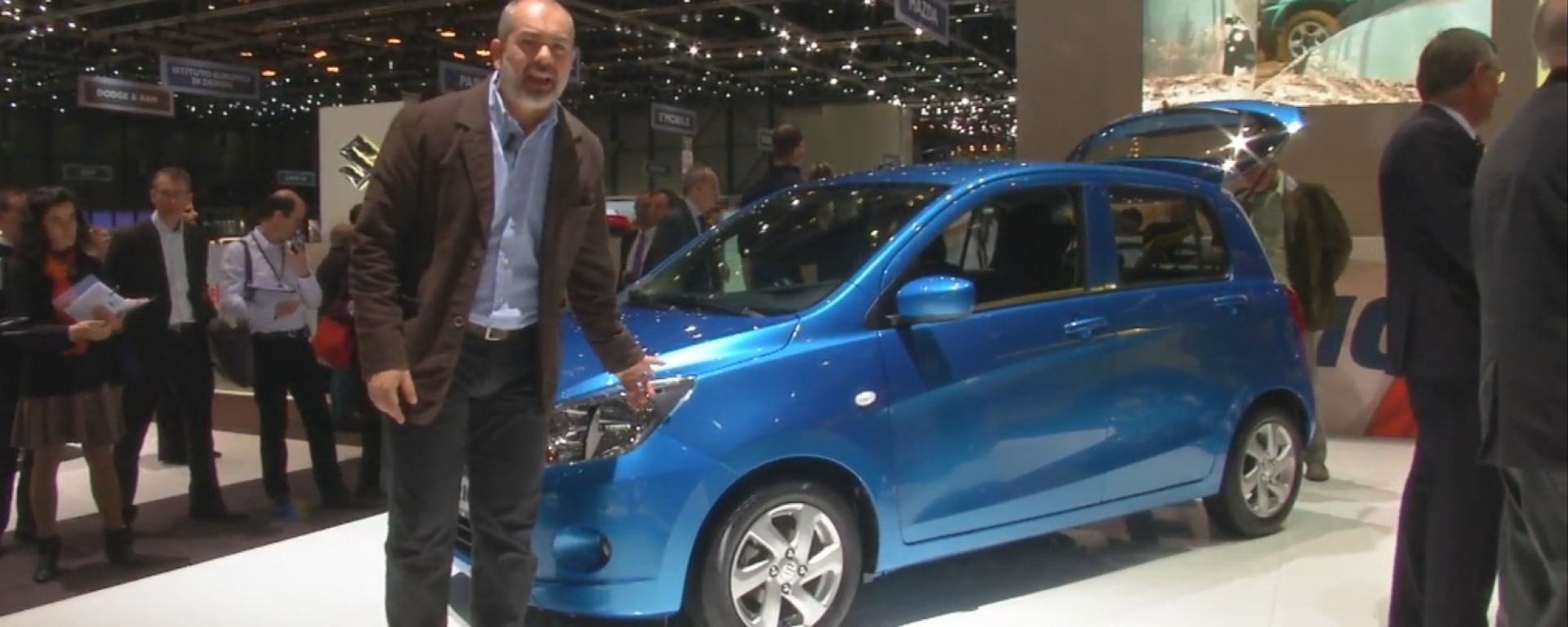 Salone di Ginevra 2014, lo stand Suzuki