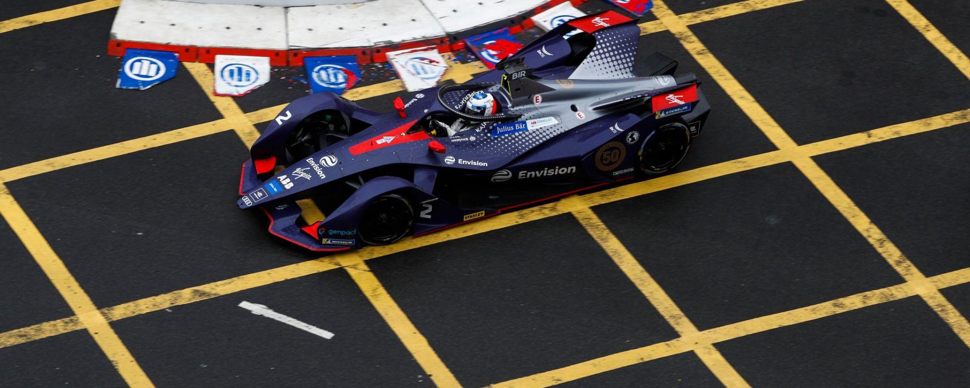 Sam Bird, leader della classifica Formula E dopo l'ePrix di Hong Kong