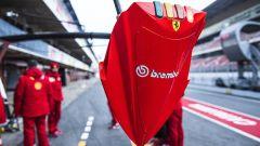 Sameforo Brembo alla piazzola dei box Ferrari