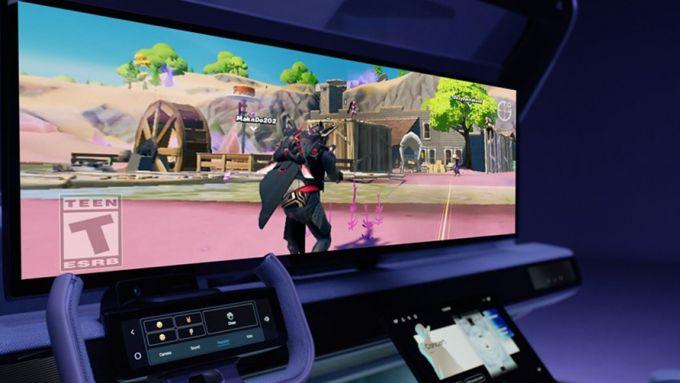 Samsung Digital Cockpit: il QLED da 49''
