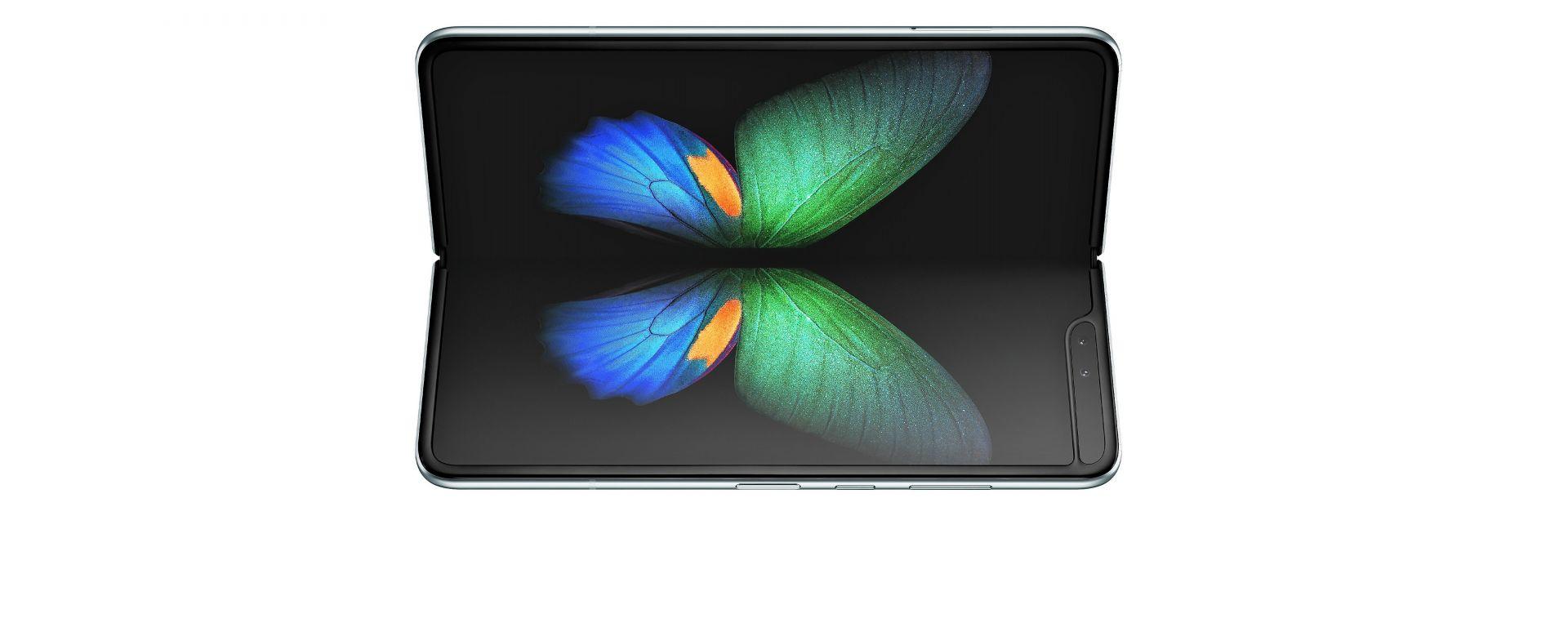 Samsung Galaxy Fold aperto