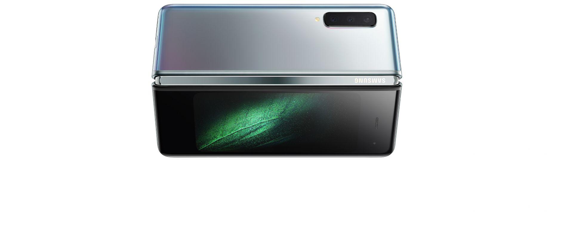 Samsung Galaxy Fold: il dorso
