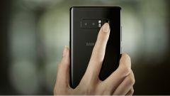 Samsung Galaxy Note 8: il lettore di impronte digitali