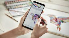 Samsung Galaxy Note 8: la S-Pen sente la pressione e adegua lo spessore del tratto