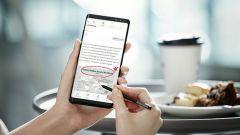 Samsung Galaxy Note 8: S-Pen si usa anche nella messaggistica