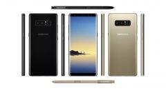 Samsung Galaxy Note 8: un composit con tutte le viste