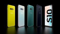 Samsung Galaxy S10e: i colori del più economico