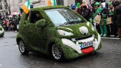 San Patrizio, auto verde a tutta birra. Il futuro delle elettriche