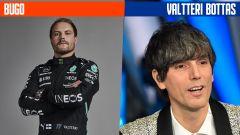 SanremoGP 21: Bugo e Valtteri Bottas