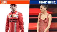 SanremoGP 21: Charles Leclerc ed Elodie