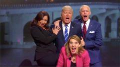 Saturday Night Live: Alec Baldwin e Jim Carrey in uno sketch sulle presidenziali americane