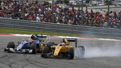 Sauber e Renault in lotta - F1 GP USA