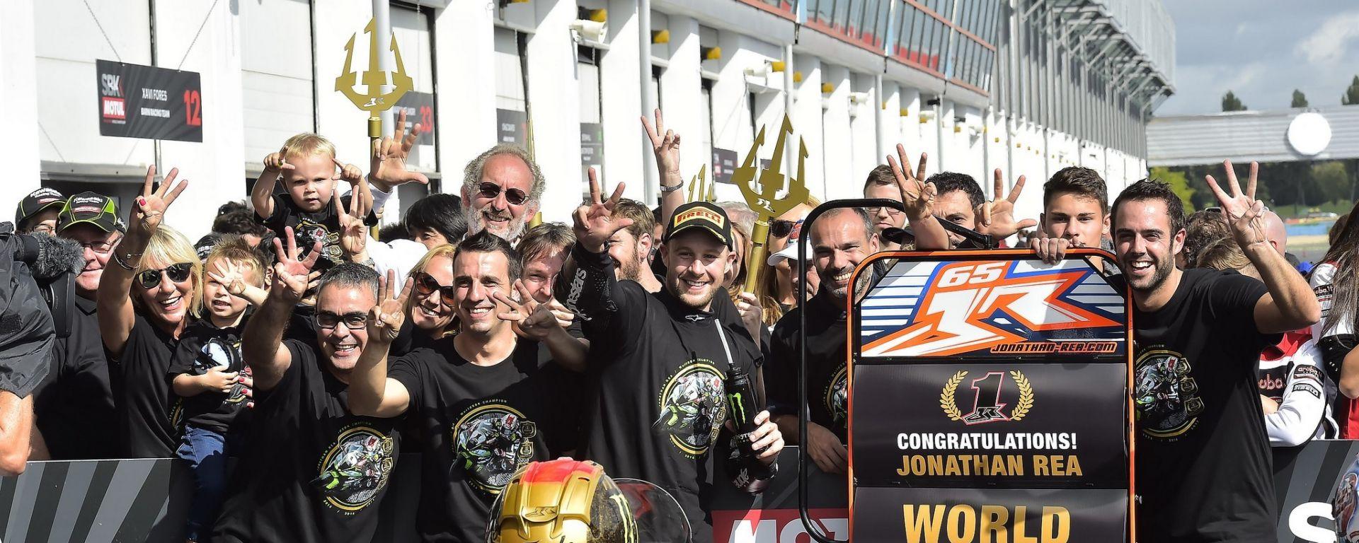 SBK 2017: Jonathan Rea per la terza volta Campione del Mondo!
