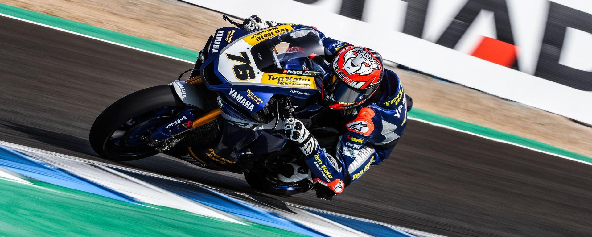 SBK 2020, Round Spagna, Jerez: Loris Baz (Yamaha)