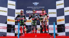 SBK Assen 2017, podio