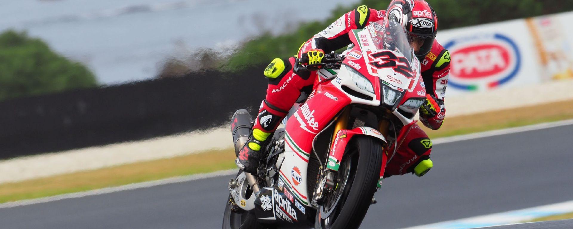 SBK Australia 2018: Lorenzo savadori il più veloce del venerdì