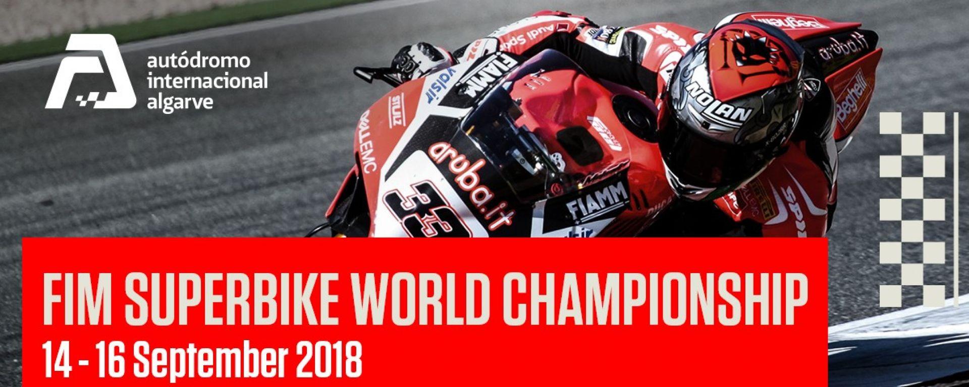 SBK GP Portogallo Portimao 2018: gli orari tv