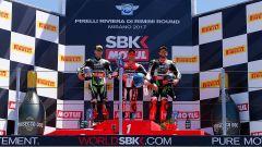 SBK Misano 2017, podio