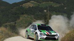 Scandola in azione nel rally di San Marino
