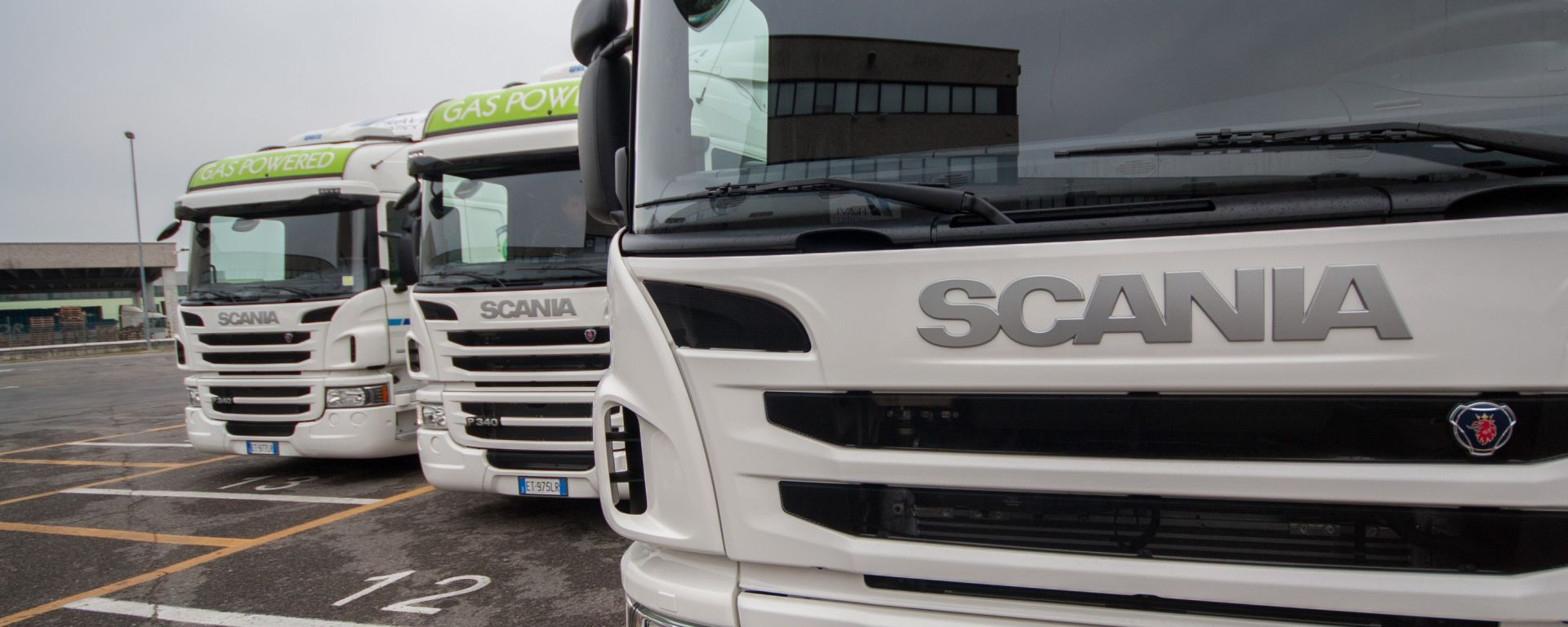 Scania Euro 6 a metano