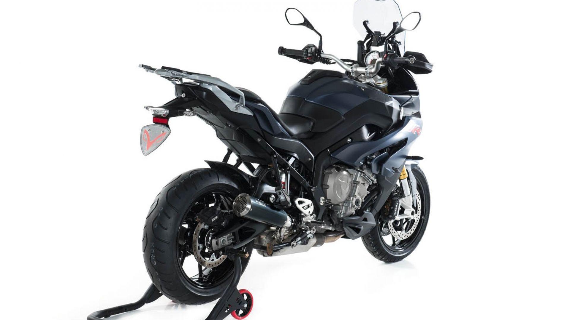 scarichi moto  styl  scarico bos ssec rr per bmw s 1000 xr