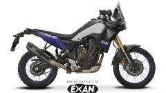 Scarico Exan Carbon Cap carbonio per Yamaha Ténéré 700