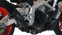 Scarico HP Corse montato su Aprilia Tuono 1100 Factory