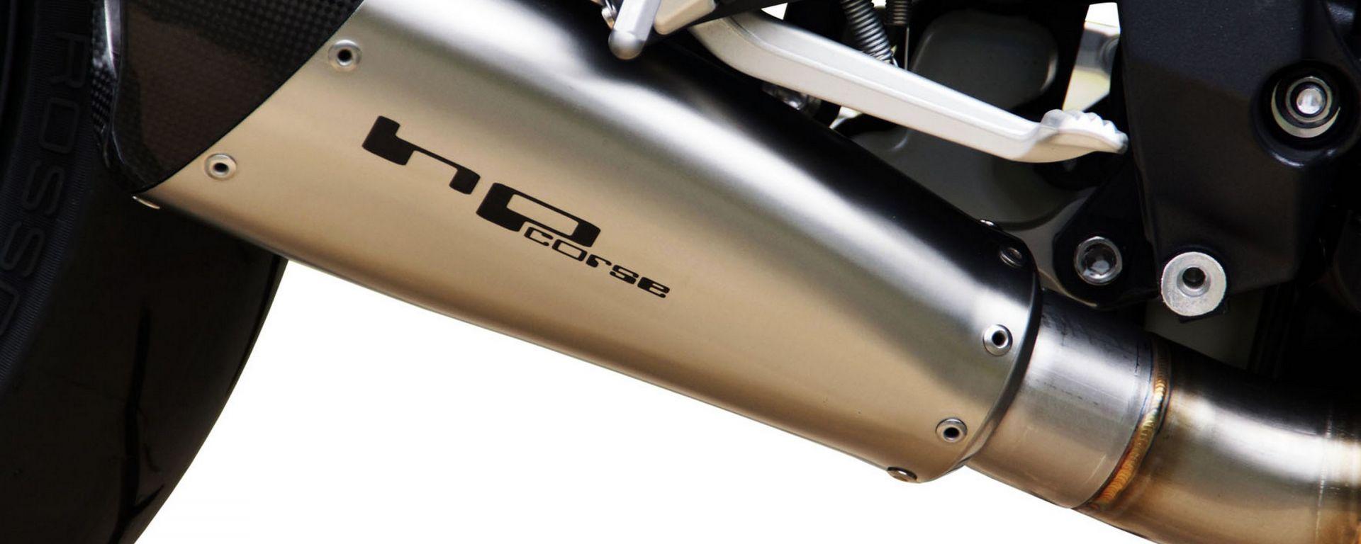 Scarico HP Corse su Triumph Street Triple