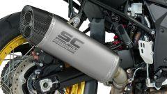 Scarico SC-Project per la Tourer Suzuki V-Strom 1000