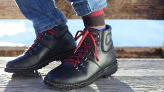 scarpa Stylmartin Red Rock e calza termica Tucano Urbano Pippi