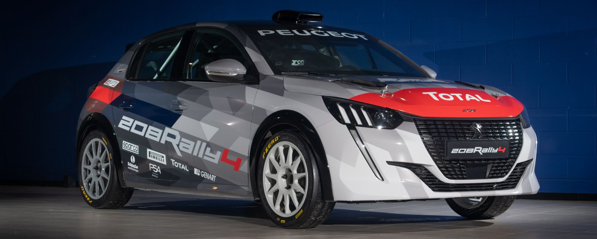 Peugeot: la scheda tecnica della nuova 208 Rally 4