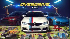 Schermata iniziale di Overdrive City