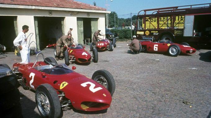 Scioperi e rinunce: le Ferrari ferme al palo nel 1962