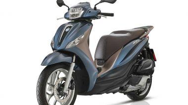 Scooter a ruote alte: il rivale italiano Piaggio Medley 125 ABS