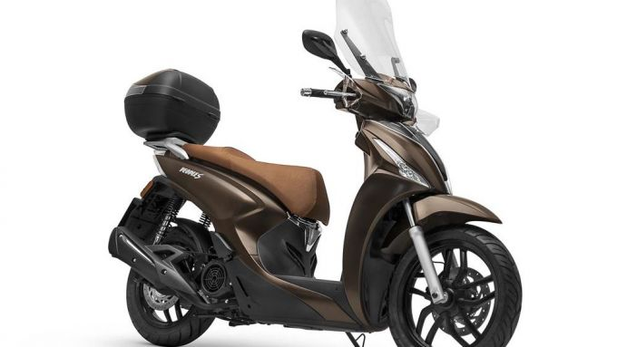 Scooter a ruote alte: il terzo incomodo Kymco People S 125 ABS