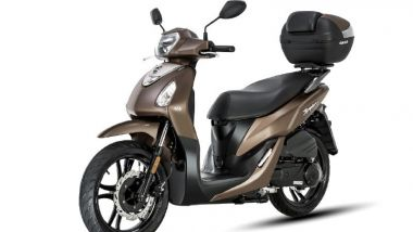 Scooter a ruote alte: l'outsider orientale Sym Symphony 125