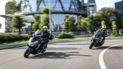 Prova: Honda Forza 300 vs Yamaha X-Max 300 a confronto - Immagine: 1
