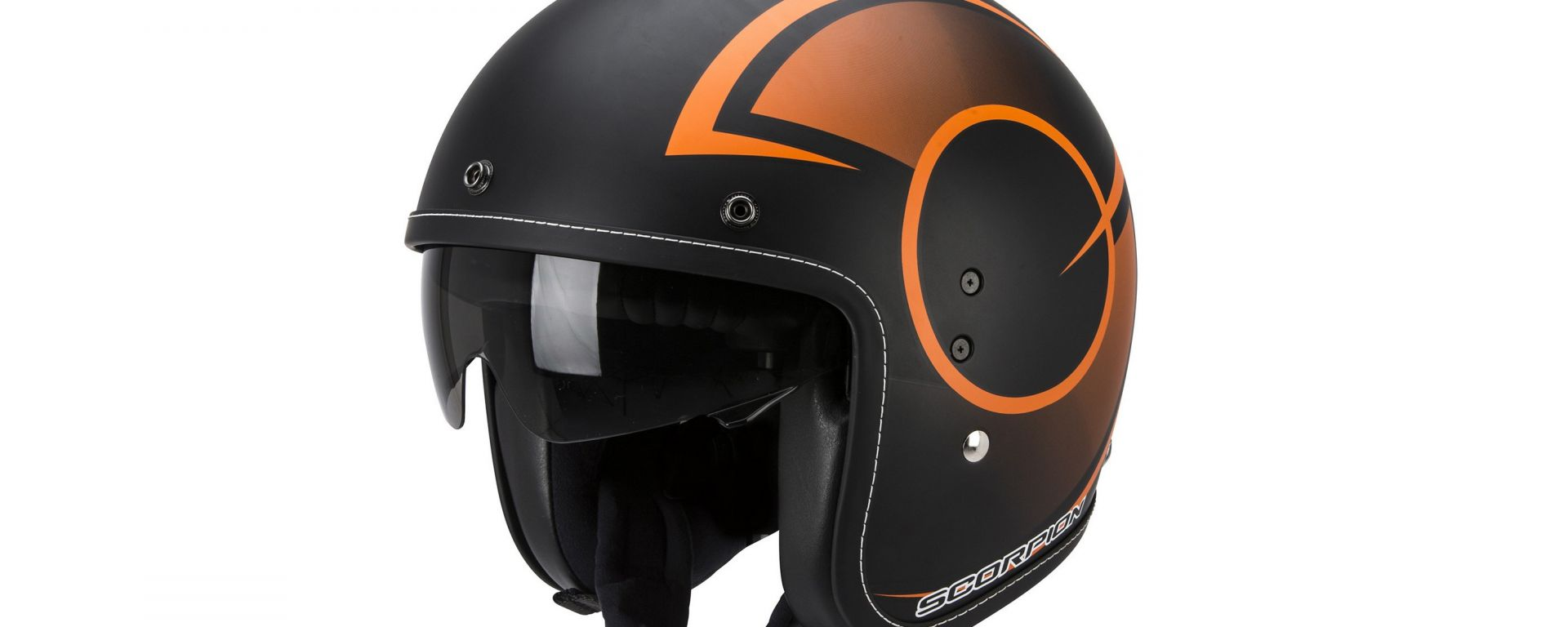 Scorpion Belfast jet colorazione black/orange
