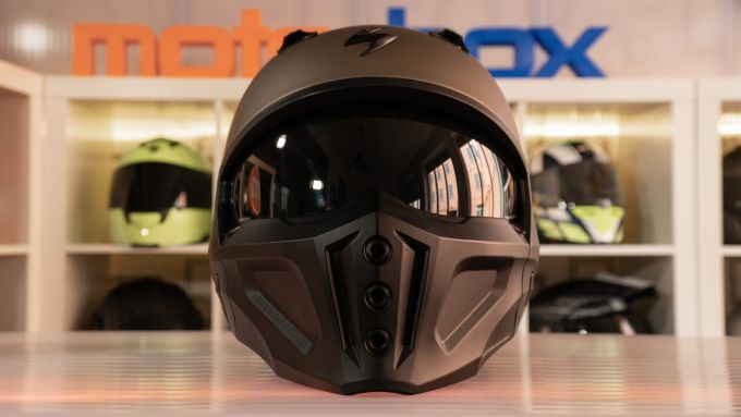 Scorpion Covert-X: vista frontale