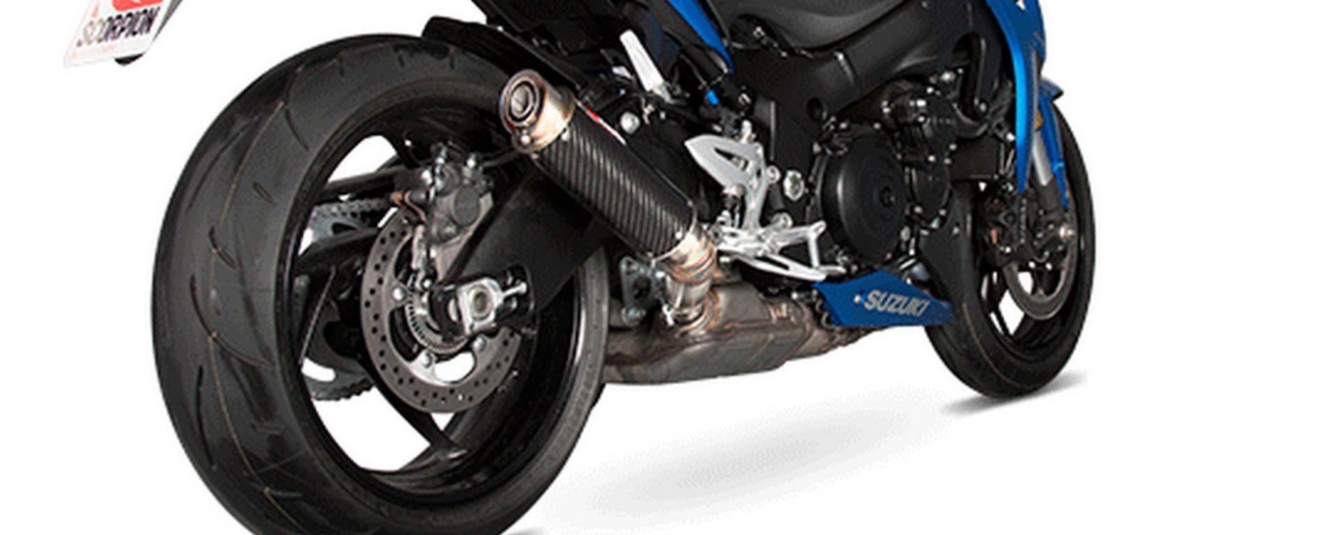 Scorpion Exhaust RP1-GP per Suzuki GSX-S 1000