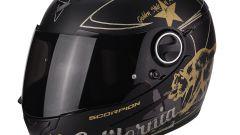 Scorpion EXO-490 GOLDENSTATE matt black gold