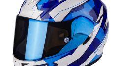 Scorpion EXO-710 AIR FURIO white blue