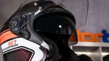 Scorpion Sports Exo S1: il visierino parasole SpeedView