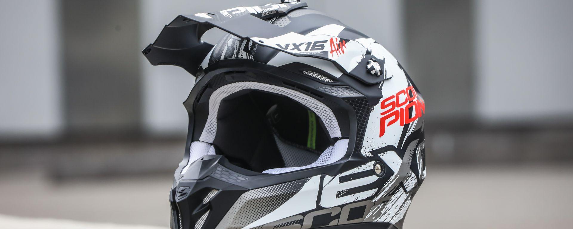 Scorpion VX-16 Air: il casco da Cross al giusto prezzo