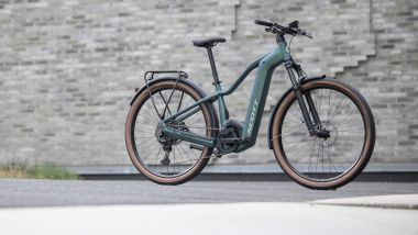Scott Axis eRide Evo: e-bike da città e per il trail