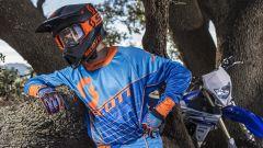 Scott Collezione MX 2018, blue and orange