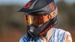 Scott Collezione MX 2018, casco e maschera orange