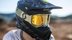 Scott Collezione MX 2018, casco e maschera yellow