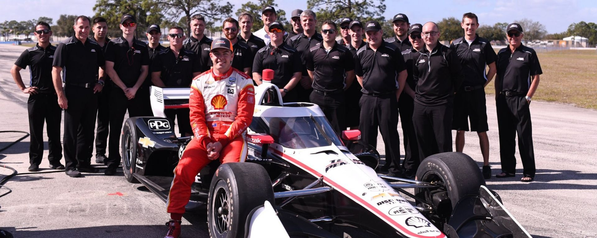 scott mclaughlin , team penske indycar