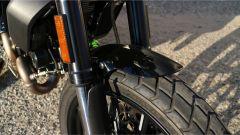 Scrambler Ducati Full Throttle: dettaglio del parafango anteriore